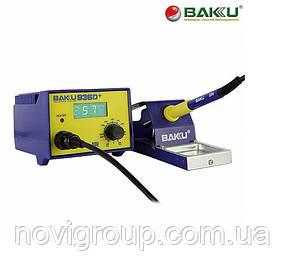 Паяльна станція BAKKU BK-936D +, цифрова індикація, паяльник з блоком регулювання, Box (263*215*118)  1,7 кг