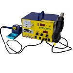Паяльна станція BAKKU BK-909S цифрова індикація, паяльник + фен,  с внутр. БЖ 0-15В 1А, FM радіо, MP-3 (320*298*240) 4,4 кг