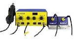 Паяльна станція BAKKU BK-603D цифрова індикація, фен, два паяльника (345*270*150) 4.48 кг