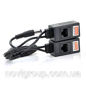 Пасивний приймач відеосигналу AHD/CVI/TVI, DC+BNC