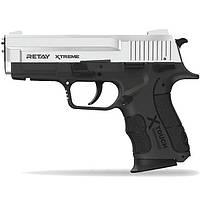 Пистолет стартовый Retay XTreme, 9мм. nickel (T570600N), фото 1