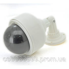 Муляж зовнішньої камери вулична купольна біла