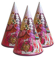 Колпачки,Эвер афтер хай праздничные карнавальные 16 см (1шт)-
