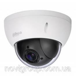 ¶4МП поворотна IP-відеокамера зі збільшенням зображення і SD картою DH-SD22404T-GN