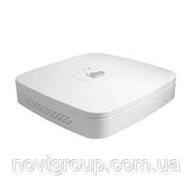 4-канальний AHD/HDCVI/HDTVI/АНАЛОГ/IP відеореєстратор DHI-XVR4104C-X1