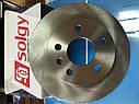 Диск тормозной передний на МВ Vito W638 96- (276•22), фото 5