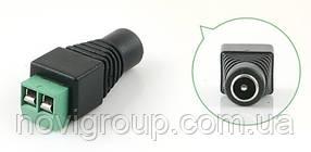 Роз'єм для підключення живлення DC-F (D 5,5x2,1мм) з клемах під кабель Q100