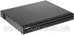 ¶16-канальний PoE відеореєстратор з підтримкою 2х HDD в металевому корпусі DHI-NVR5216-16P-4KS2E