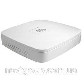 16-канальний відеореєстратор в пластиковому корпусі DHI-NVR4116-4KS2/L