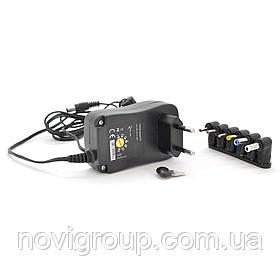 БЖ Універсальний Input 100V-240V 50-60Mhz, Output: 3V-12V-1.5.A 18W, 6 Г-подібних роз'ясненнями ємів 2.35 * 0.75 / 3.0 *