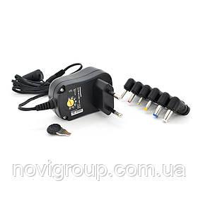 БЖ Універсальний Input 100V-240V 50-60Mhz, Output: 3V-12V-1A 12W, 6 Г-подібних роз'ясненнями ємів 2.35 * 0.75 / 3.0 *