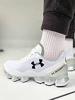 Мужские кроссовки Under Armour Scorpio Running shoes White/Black(Топ качество)