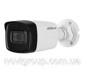 ¶8 МП відеокамера Dahua з вбудованим мікрофоном DH-HAC-HFW1801TLP-A (2.8 ММ)