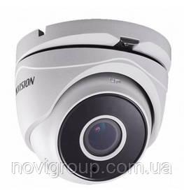 ¶3Мп Turbo HD вуличні / внутр відеокамера з моторизованим об'єднання єктивом DS-2CE56F7T-IT3Z (2.8-12мм)