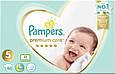 Підгузки Pampers Premium Care 5 (11-16кг), 88шт, фото 3