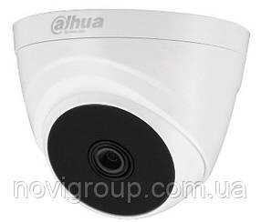 1 МП Камера купольна внутрішня DH-HAC-T1A11P (2.8 мм)