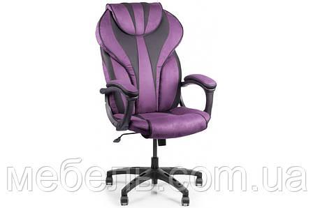 Кресло для врача Barsky BSD-07 Sportdrive Blackberry Fibre Arm_pad Tilt PA_desinge, фиолетовый, фото 2