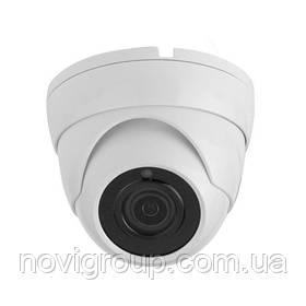 1MP камера купольна корпус пластик AHD / HDCVI / HDTVI / Аналог 720р / 960Н (об'єднання єктив 3.6 мм / ІК підсвічування