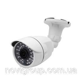 1MP камера циліндрична корпус метал AHD / HDCVI / HDTVI / аналоговий 720Р MERLION (об'єкт 3.6мм / ІК підсвітка