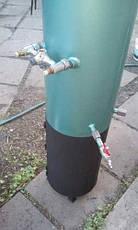 Водонагреватель-титан на дровах 100 л (бак внутри оцинкованный), фото 3