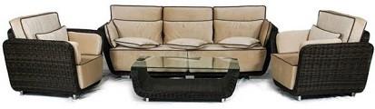 Набор мебели Ривьера коричневый - картинка