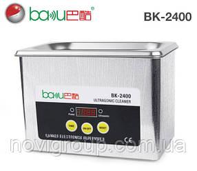 Ультразвукова ванна BAKKU BK2400 Один режим роботи (35W), металевий корпус, металева кришка