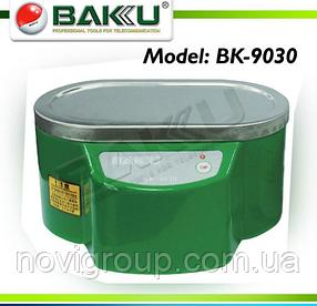 Ультразвукова ванна BAKKU BK9030 Один режим роботи (30W), металевий корпус, металева кришка