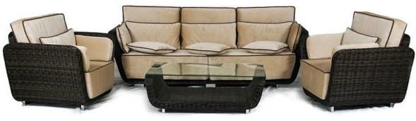 Набор мебели Ривьера коричневый Conoletto