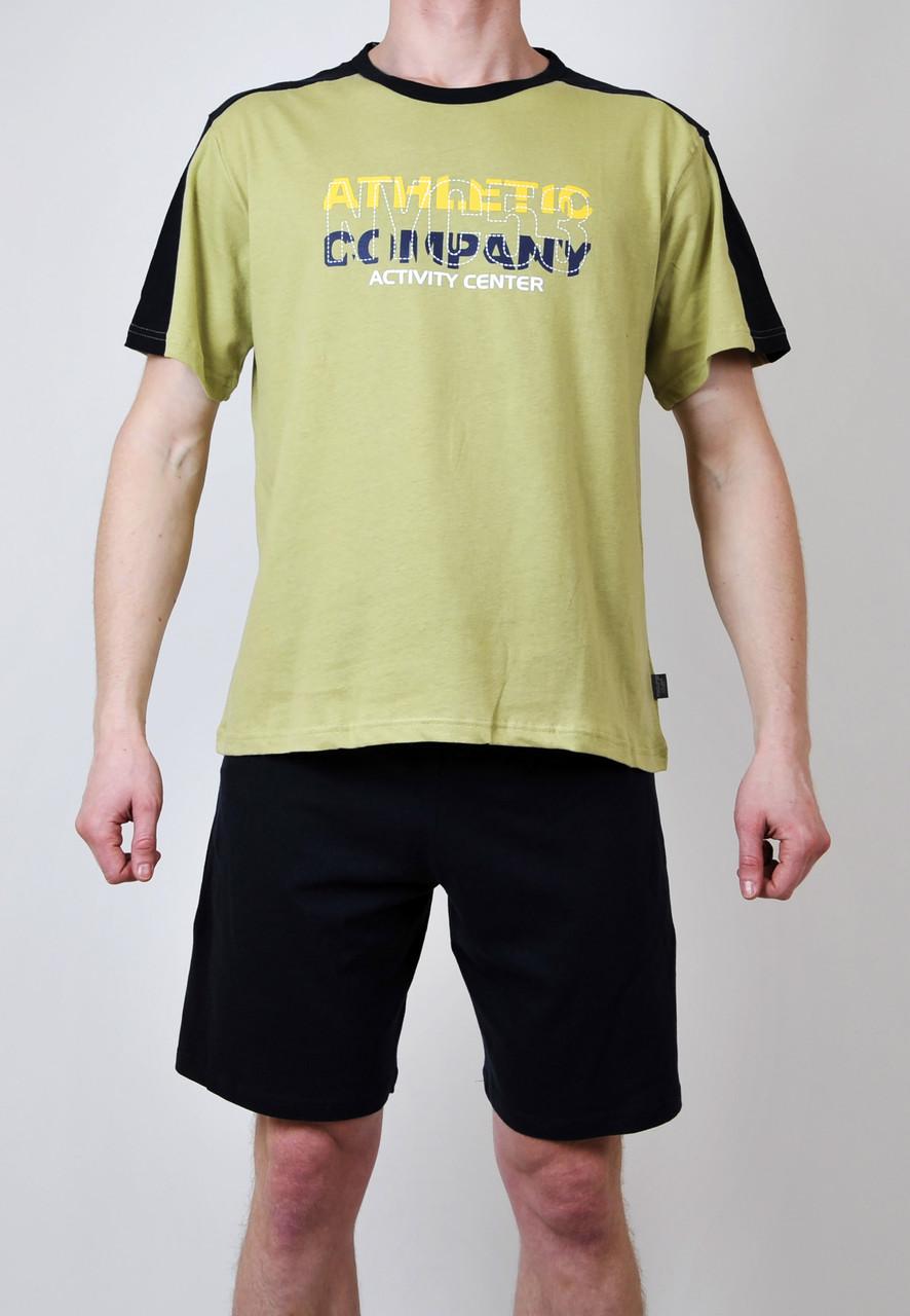 Чоловіча піжама (футболка + шорти)