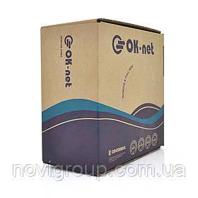 Кабель Одескабель КПВ-ВП (100) 2 * 2 * 0,48 (UTP-cat.5-SL), OK-net, CU, для внутр. робіт, 305м.