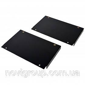 Перехідн. елемент вент. блоку MGSE (шир. 610 мм) до шаф шир. 800 мм (2 шт), чорний
