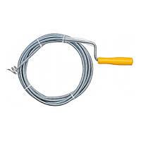 Трос для чистки каналицации 9 мм длина 5м VOREL 55544 (55544)