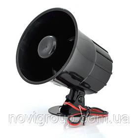 Сирена ES-626 YOSO 110дБ, 15 Вт, 6-12 В (110*110*113) 0,26 кг