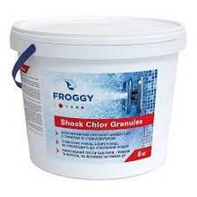 """Быстрорастворимый хлор в гранулах Froggy """"Shock Chlor Granules G140"""" 1 кг (шок-хлор)"""