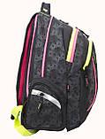 Рюкзак школьный для подростка YES Т-24 Neono 42*32*23см код: 552658, фото 2