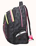 Рюкзак школьный для подростка YES Т-24 Neono 42*32*23см код: 552658, фото 3