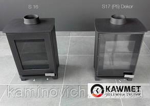 Чугунная печь KAWMET Premium S17 (P5) Dekor (4,9 kW), фото 3