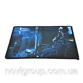 Килимок 250 * 210 тканинний GAMER з бічною прошивкою (в асортименті), товщина 1,7 мм, колір MIX, Пакет