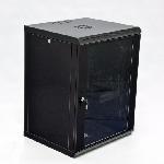 Шафа 15U, 600х500х773мм (Ш*Г*В), економ, акрилове скло, чорна