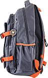 Рюкзак городской YES  OX 302, серый, 30*47*14.5 код: 554009, фото 3