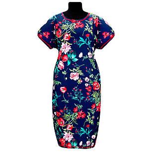 Платье Батал из вискозы, фото 2