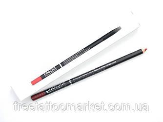 Водостойкий карандаш Goochie для эскиза перманентного макияжа (красный)
