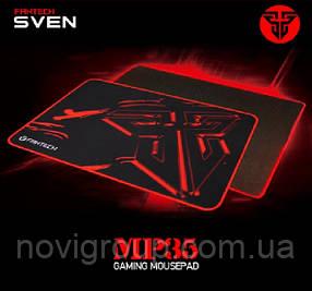 Килимок 350*250 для миші Fantech MP35 тканинний з бічної прошивкою, товщина 3 мм, колір Black, Color Box