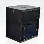 Шафа 15U, 600х600х773мм (Ш*Г*В), економ, акрилове скло, чорна