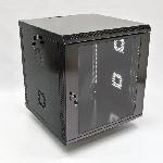 12U Шафа, 600х500х640 мм (Ш*Г*В), акрілове скло, чорна