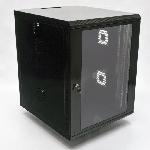 Шафа 15U, 600х700х773 мм (Ш*Г*В), акрилове скло, чорна