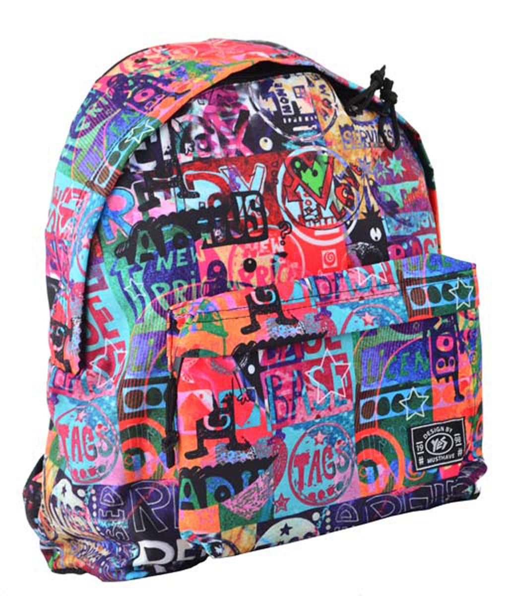 Рюкзак городской прогулочный YES  ST-17 Crazy relax, 42*32*12 код: 555002