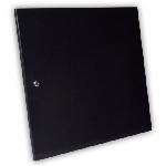 Двері суцільнометалеві 12U до шаф MGSWA, чорна