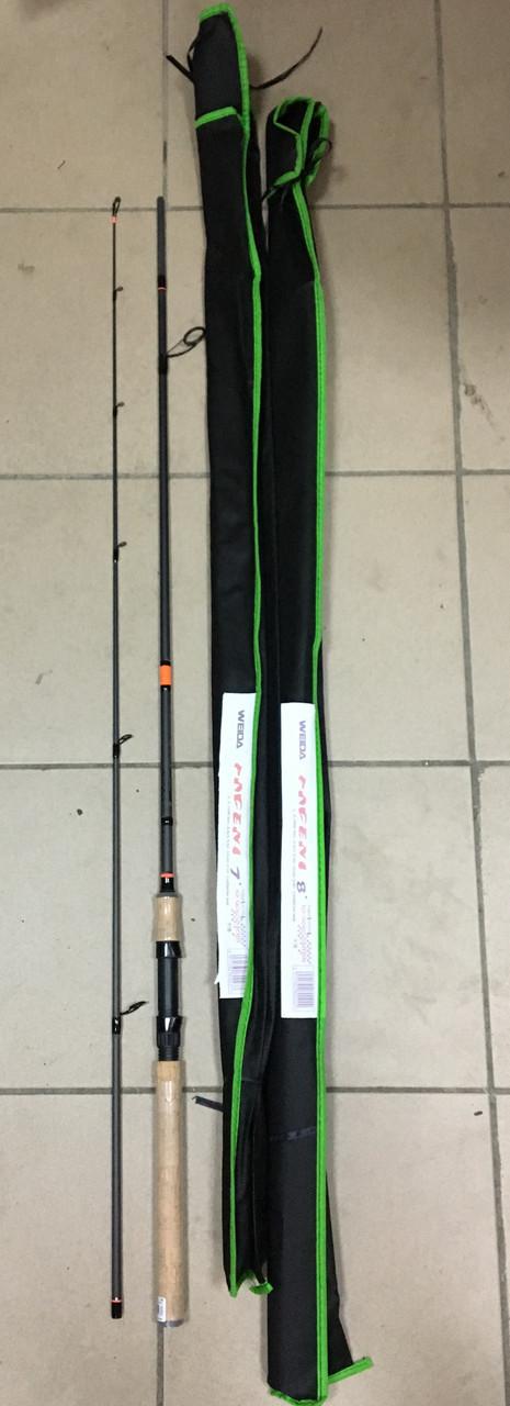 Спиннинг Weida Pageni 2,4m, тест 10-40g
