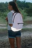 Рюкзак городской светоотражающий YES CITYPACK T-66 Pink код: 557462, фото 3